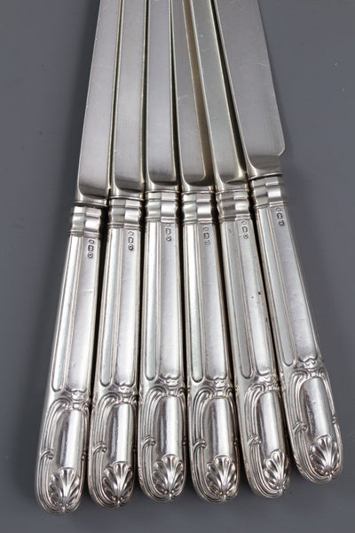 A Very Fine 6 Place Silver Canteen by Paul Storr