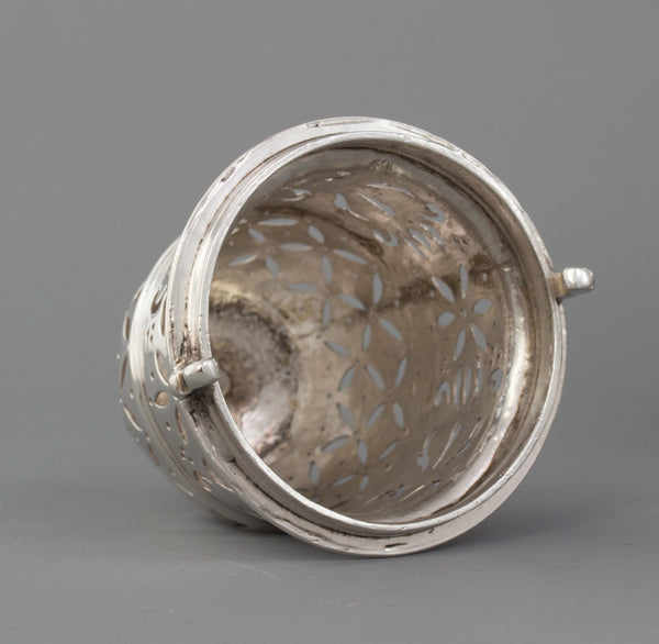 A Very Fine and Large Britannia Silver Queen Anne Sugar Caster, London 1707 by Thomas Farren