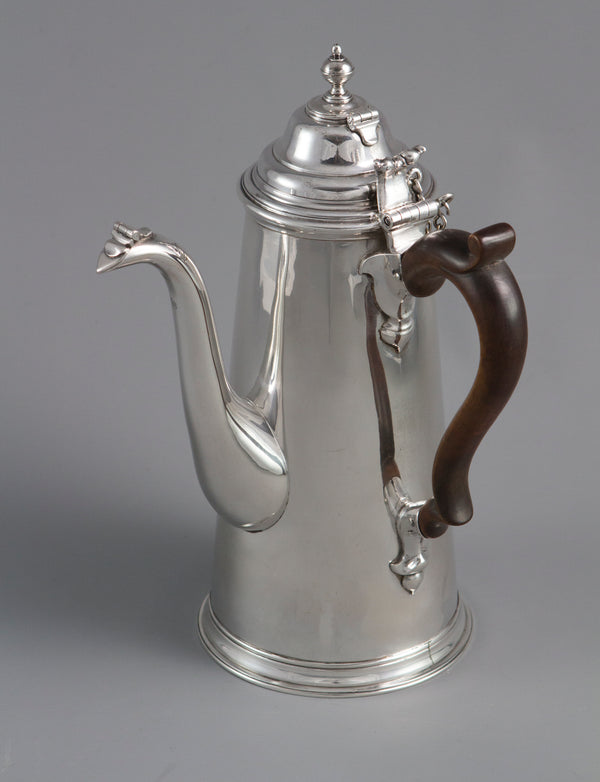 A William III Britannia Silver Chocolate Pot London 1698