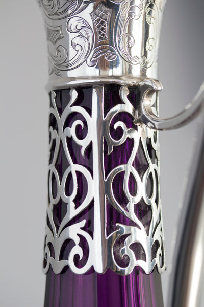A Very Fine Early Victorian Silver Claret Jug, London 1839 by Charles Reily and George Storer