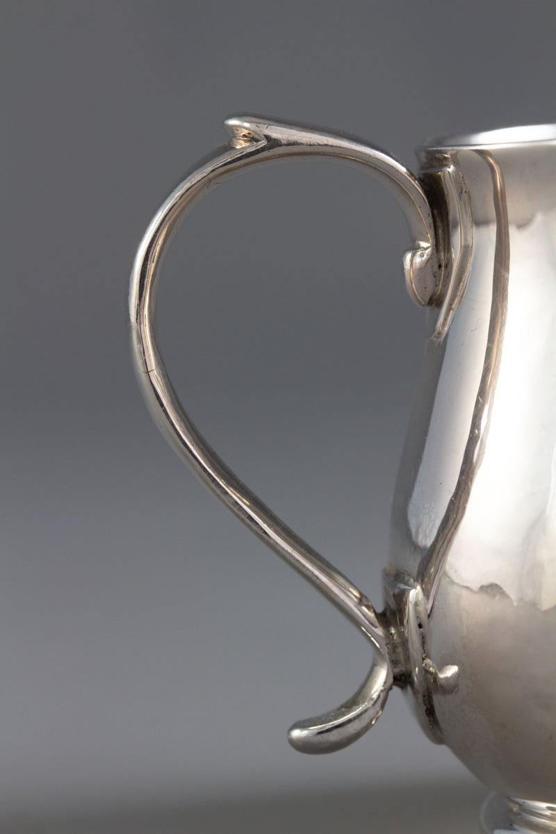 A Britannia Silver George I Sparrow Beak Cream Jug, London 1718 by James Goodwin