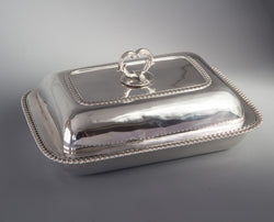 A Georgian Silver Entree Dish London 1815 by William Bateman