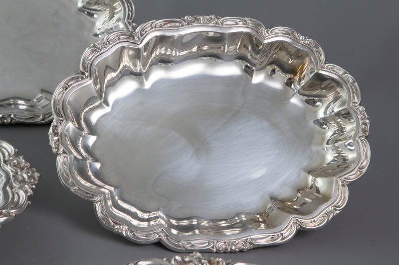 A Pair of William IV Silver Entree or Serving Dishes Birmingham 1836