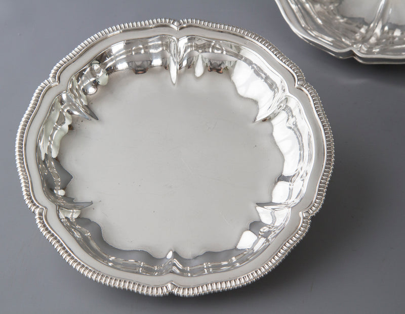 An Exceptional Pair of Georgian Silver Entree Dishes by Paul Storr London 1826