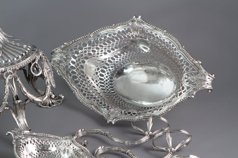 An Exhibition or Museum Quality Silver Epergne or Table Centrepiece London 1773 by Thomas Pitts
