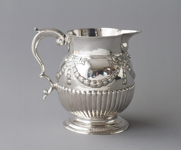 A Good Milk George III Jug by George Gray, London 1791