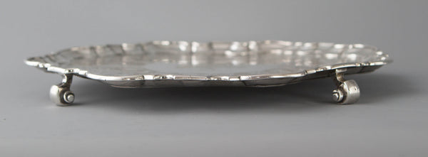 A Superb George II Silver Salver, John Luff London 1744