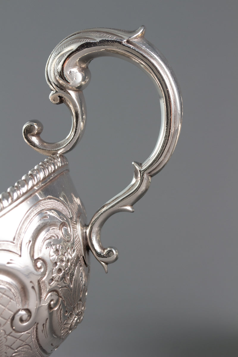 A Rare Pair of Irish Silver Sauce Boats Dublin 1772 by Richard Williams