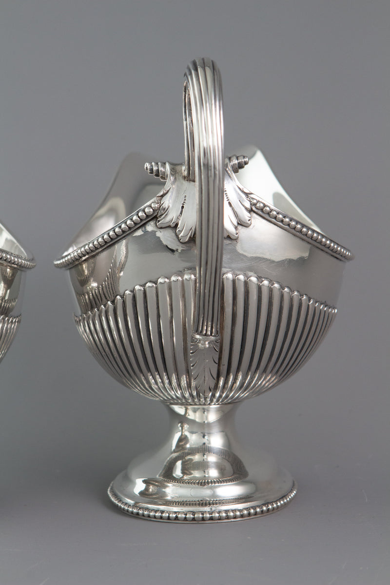 A Very Fine Pair of George III Silver Sauce Boats London 1777