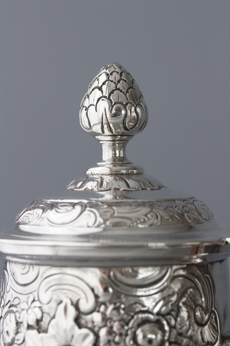 A George II Irish Silver Coffee Pot, Dublin circa 1734