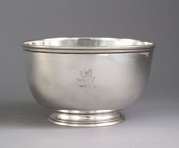 A George II Silver Sugar Bowl, London 1743