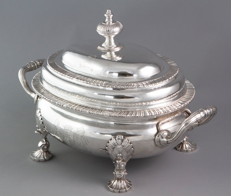 A Museum Quality George III Silver Soup Tureen