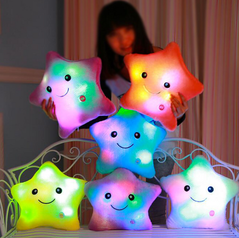 Kids Led Night Light Pillow