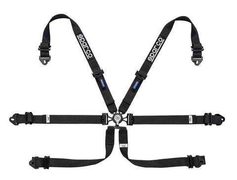"Sparco Harness - 6 PT Hans - 2"" Steel PD"