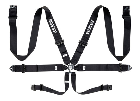 "Sparco Harness - 6 PT 3"" Steel"