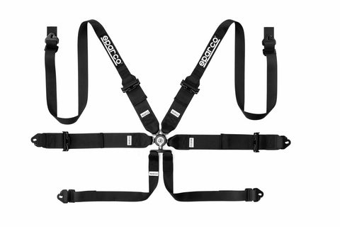 "Sparco Harness - 6 PT Hans - 3""/2"" Steel"
