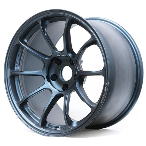 *Set of 4* Volk Racing ZE40 - 18x10 +40, 5x100 Matte Blue Gunmetal (FRS/BRZ/GT86 Fitment)