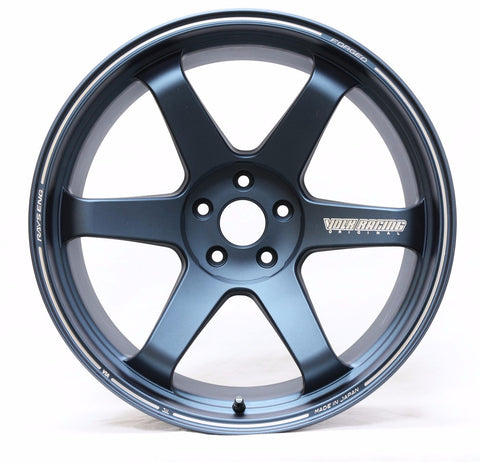 *SET of 4* Volk Rays Engineering TE37 Ultra - BMW F80/F82 M3/M4 Fitment - Matte Blue Gunmetal