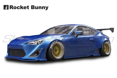 Rocket Bunny V1 Full Kit w/o Wing - Scion FRS / Subaru BRZ / Toyota GT86