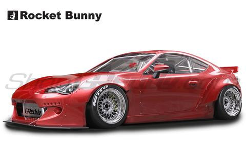 Rocket Bunny V2 Full Kit W/ Wing - Scion FRS / Subaru BRZ / Toyota GT86