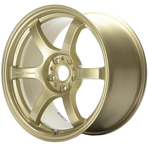 Gram Lights 57DR - 18x9.5 +38 5x100 Gold *Set of 4*