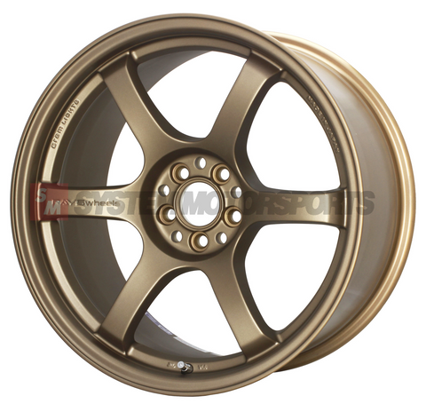 Gram Lights 57DR - 18x9.5 +12 5x114.3 Bronze *Set of 4*