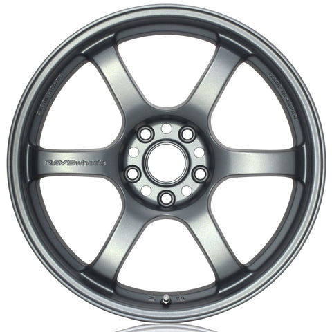 Gram Lights 57DR - 19x9.5 +25 / 19x10.5 +35 / 5x112 Gunblue II *Set of 4*