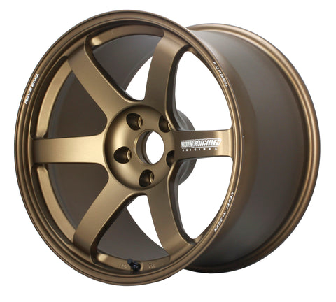 *SET of 4* Volk Rays Engineering TE37 Saga 18x9.5 +43, 5x100 - Bronze (FRS/BRZ Special)