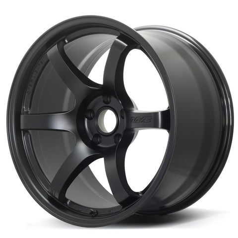 Gram Lights 57DR - 19x10.5 +22 5x114.3 Semigloss Black *Set of 4*