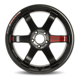 Volk Racing TE37SL Black Edition III - 18x9.5 +43 5x120 *Set of 4*