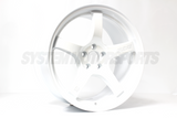 Gramlights 57CR 18x9.5 +38 5x120 White / Cereamic Pearl
