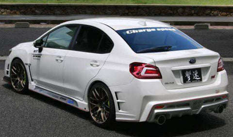 Chargespeed Carbon Fiber Full Kit - 2015+ Subaru WRX/STI Sedan T-3B