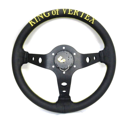 "Vertex ""King"" Steering Wheel - 330mm (STRWHL330KINGDP)"