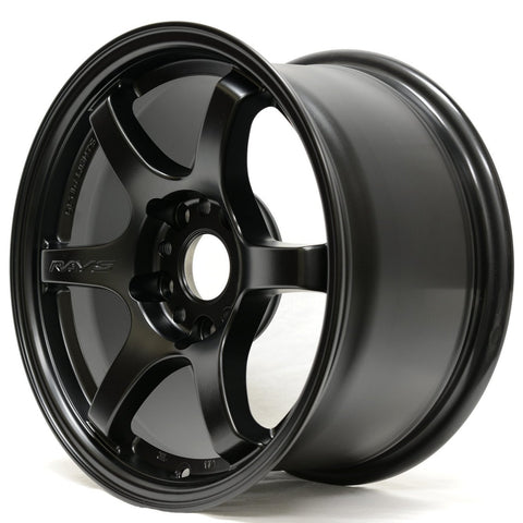 Gram Lights 57DR - 15x8 +35 5x114.3 Semigloss Black *Set of 4*