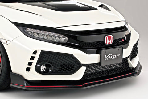 Varis Front Lip FK8 Civic Type R (Carbon)