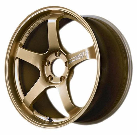 *SET of 4* Advan GT Premium 19x9.5 / 19x10.5 - BMW F80/F82 M3/M4 Fitment - Racing Gold Metallic