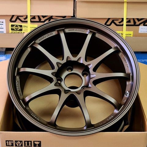 Volk Racing CE28SL - 18x9.5 +44 5x120 Blast Bronze *Set of 4*