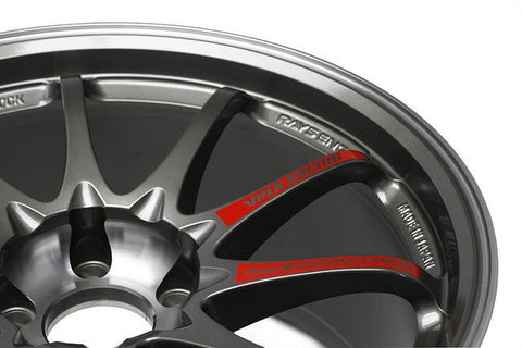 Volk Racing CE28SL Replacement Spoke Sticker - Red