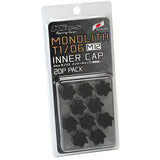 Project Kics Monolith T1/06 M12 Lug Nut Cap Set (20pcs)