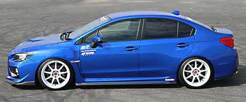 ChargeSpeed Bottom Line Side Skirts (CFRP) - 2015+ WRX/STI