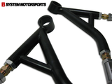 RacerX FLCA Front Lower Control Arms Camber Option FRS BRZ GT86 Scion Subaru Toyota at System Motorsports