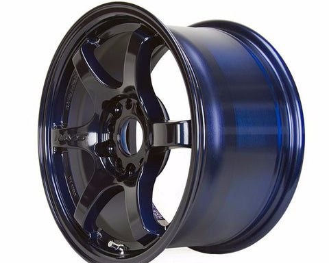 57DR Mag Blue 18x9.5 +38 5x100 - FRS/BRZ/GT86 Fitment at System Motorsports