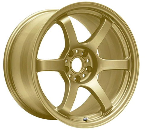 Gram Lights 57DR - 18x9.5 / +38 / 5x120 - E8 Gold *4 wheels*