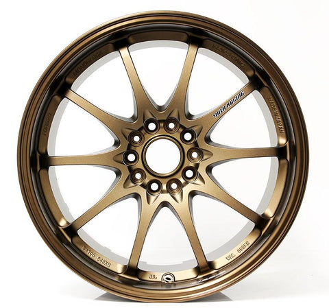 Rays Volk Bronze CE28N Bronze Concave Face 18x10 +39 5x120 FK8 Type R Fitment