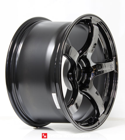 Advan TC4 - 18x9.5 +45 5x114.3 -  Black Chrome/SBC *Set of 4*