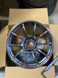 Advan RZII - 18x9.5 +45, 5x114.3 -  Hyper Black *Set of 4*
