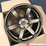 Rays Volk TE37 Saga - 18x9.5 +33 5x120 (Face 4 Concave) - 2017+ Civic Type R FK8 Fitment *Set of 4*