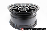 Enkei NT03 SBC 18x9.5 +27 5x114.3 System Motorsports 18x9.5 +40 5x100NT03 SBC Colorway 18x9.5 +40 5x100 Exclusive Batch Sizing at System Motorsports