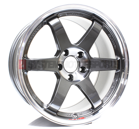 Volk Racing TE37SL - 18x10 +40 5x120 Pressed Graphite *Set of 4*