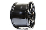 *SET of 4* Gramlights 57CR 18x10.5 +22, Gloss Black (5x114.3)